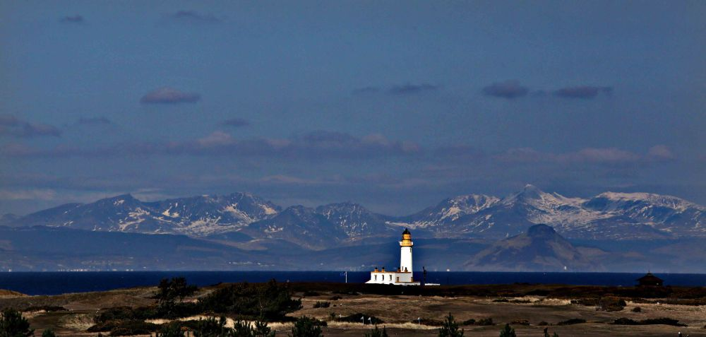 The Turnery Lighthouse of the Ayrshire Coast.