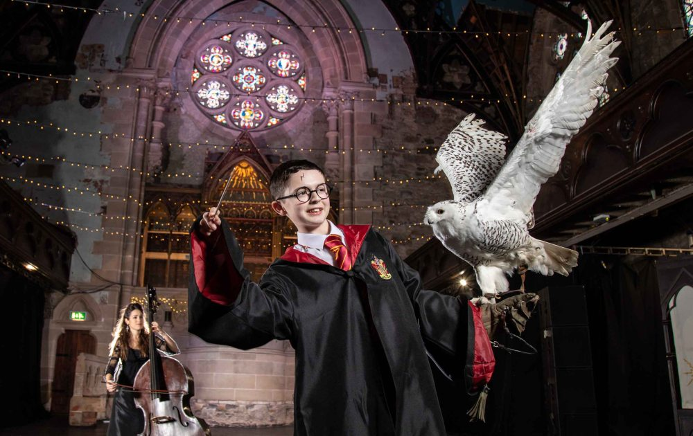 RSNO Harry Potter photo call at Cottier's Theatre